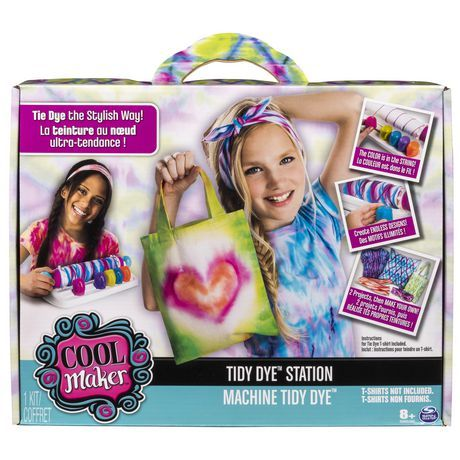 Cool Maker Tidy Dye Station Fashion Activity Kit For Kids Age 8
