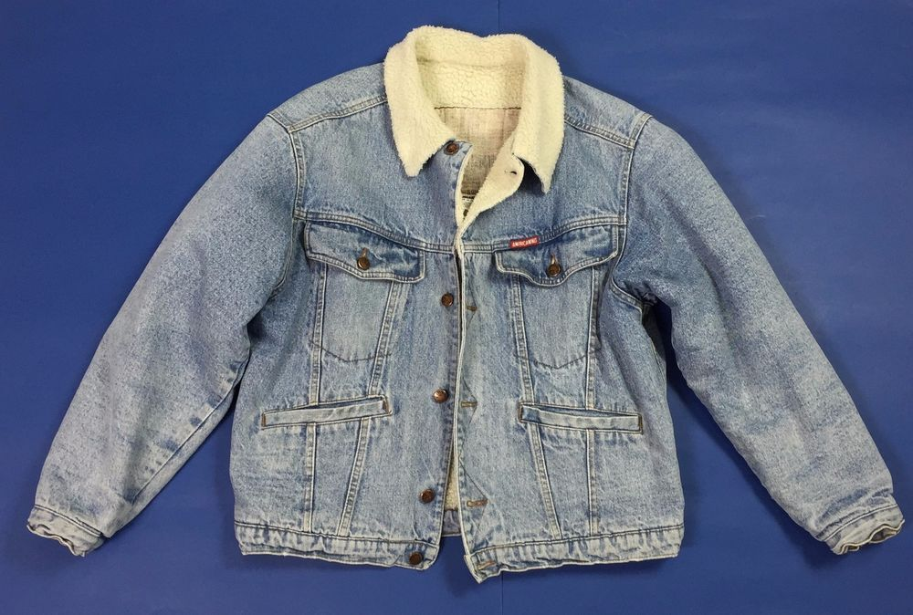 best authentic 458ba 07ab9 Americanino giubbotto sherpa giacca jeans L giubbino ...