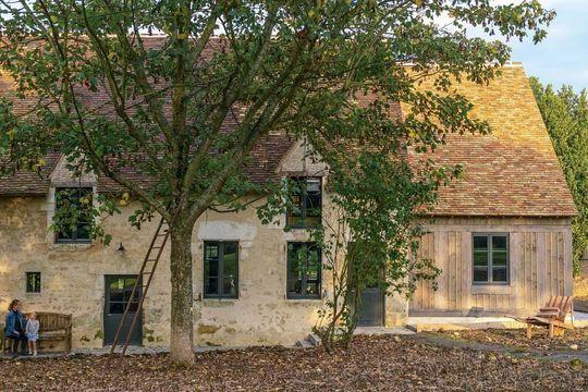 Deco maison interieur avec couleur vieilles maisons for Exterieur vieille maison