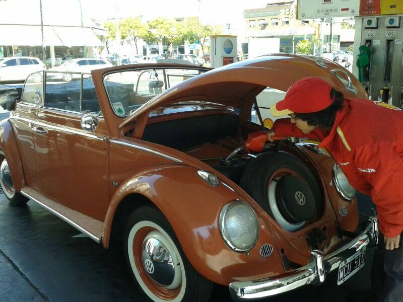 Lucas Metalli's 1958 Coral Red Karmann Kabriolet. Lucas is from Buenos Aires, Argentina.