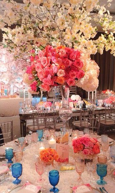 Floral Wedding Table Dec.