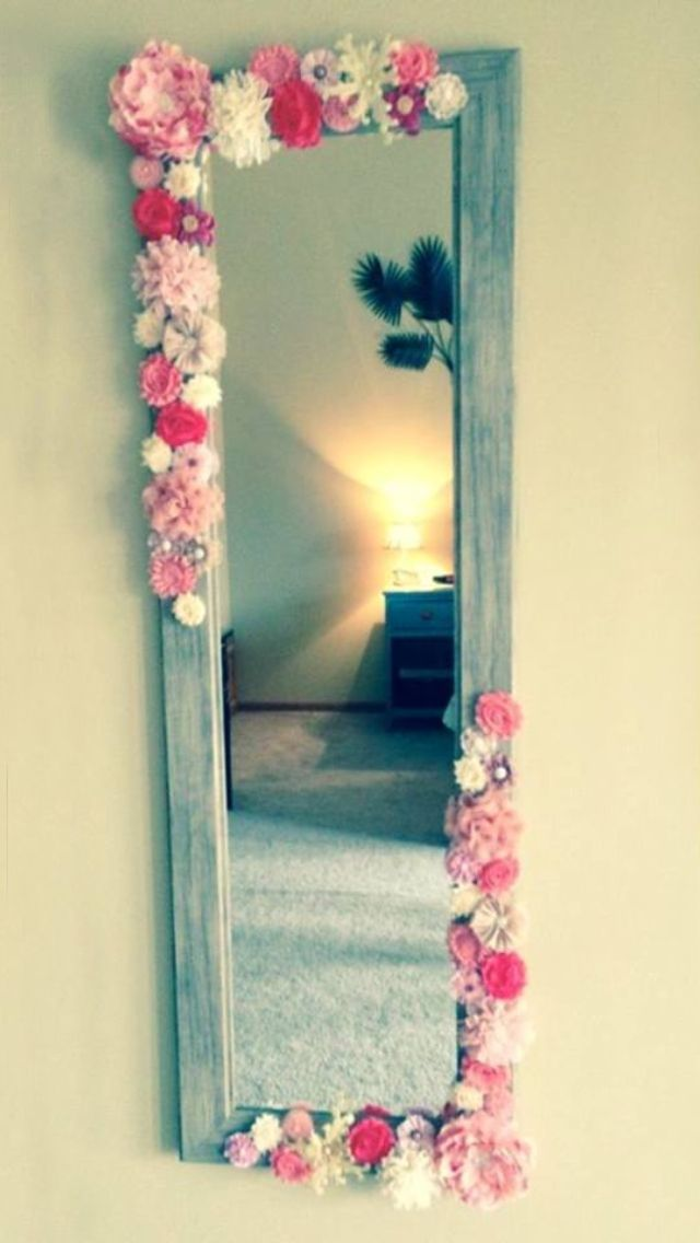 50 Stunning Ideas for a Teen Girl\u0027s Bedroom Espejos decorativos