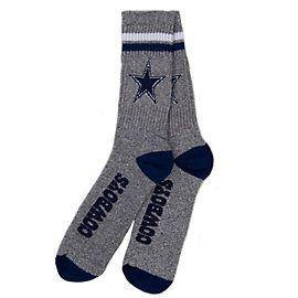 Dallas Cowboys 2-Stripe Socks