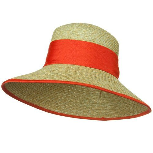 Straw Hat Orange Band