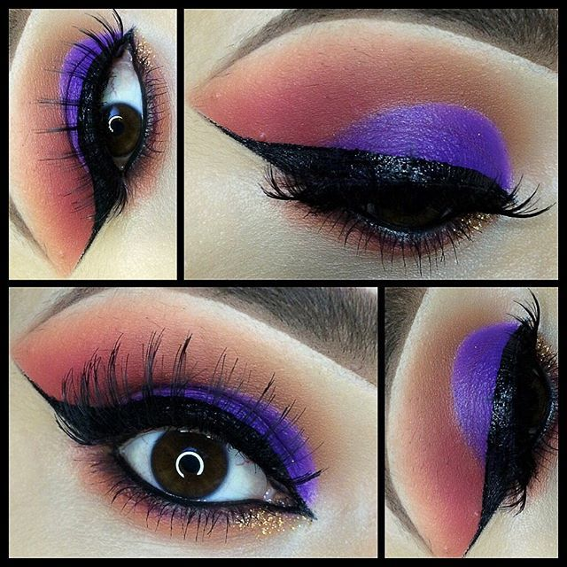 """Close up on the eyes details of this look on original post brushes I use are @royallangnickel for the entire look"" Photo taken by @joann_xoxo23 on Instagram, pinned via the InstaPin iOS App! http://www.instapinapp.com (08/21/2015)"