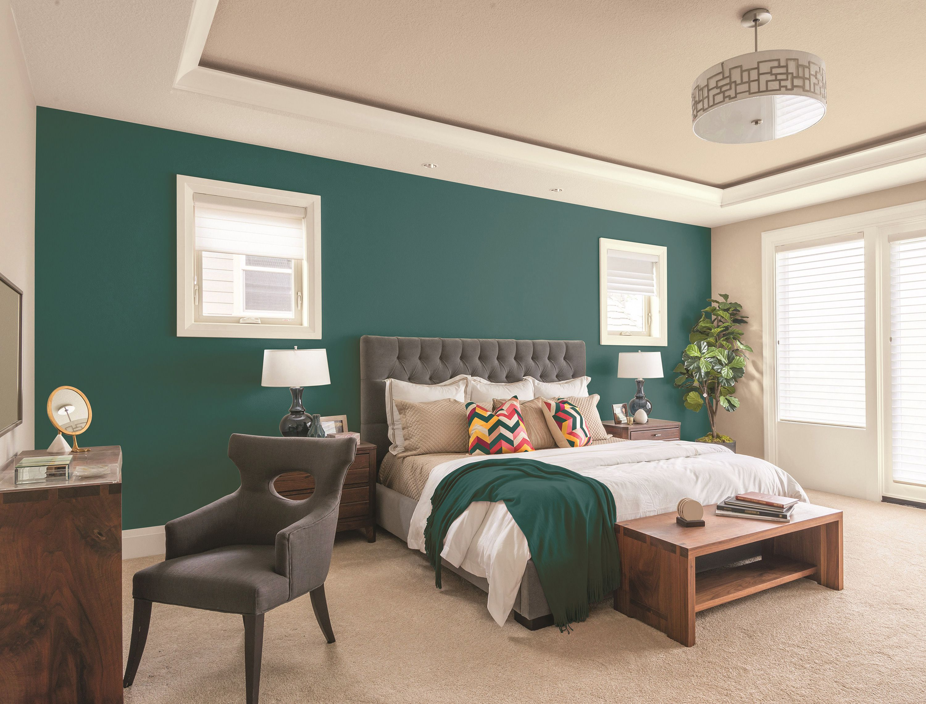 How To Choose An Accent Wall Accent Walls In Living Room Accent Wall Bedroom Living Room Colors