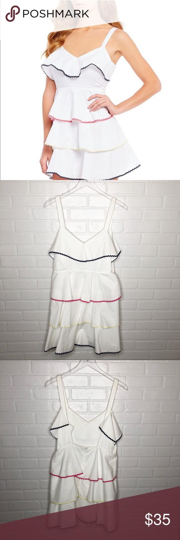 Wayf White Trento Tiered Dress White Tiered Dress Tiered Dress Layered Ruffle Dress [ 1740 x 580 Pixel ]