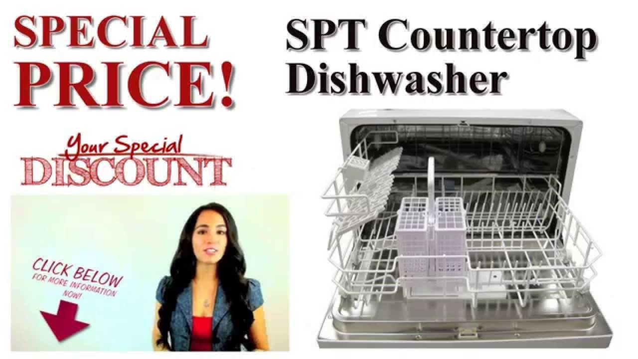 Buy Cheap Spt Countertop Dishwasher Spt Countertop Dishwasher Best Offers Price Review Sptcounte With Images Dishwasher Reviews Countertop Dishwasher