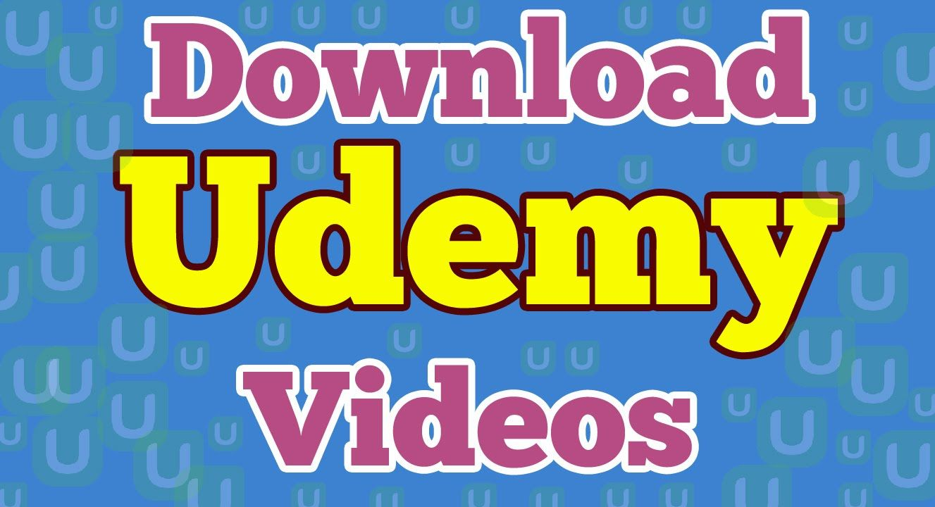 Download Udemy videos easily with google chrome extension | free