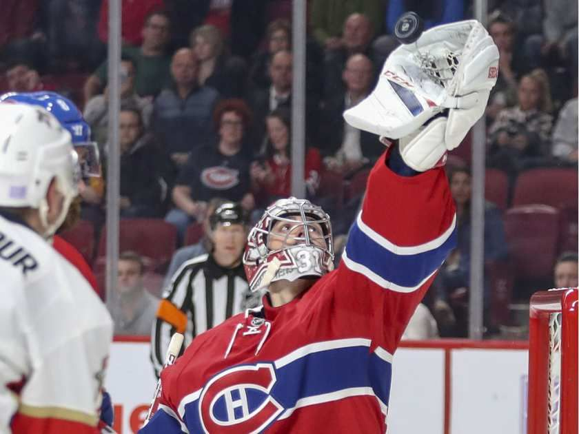 Panthers Spoil Habs Perfect Record At Home With Overtime Win Hockey Goalie Hockey World Canadiens