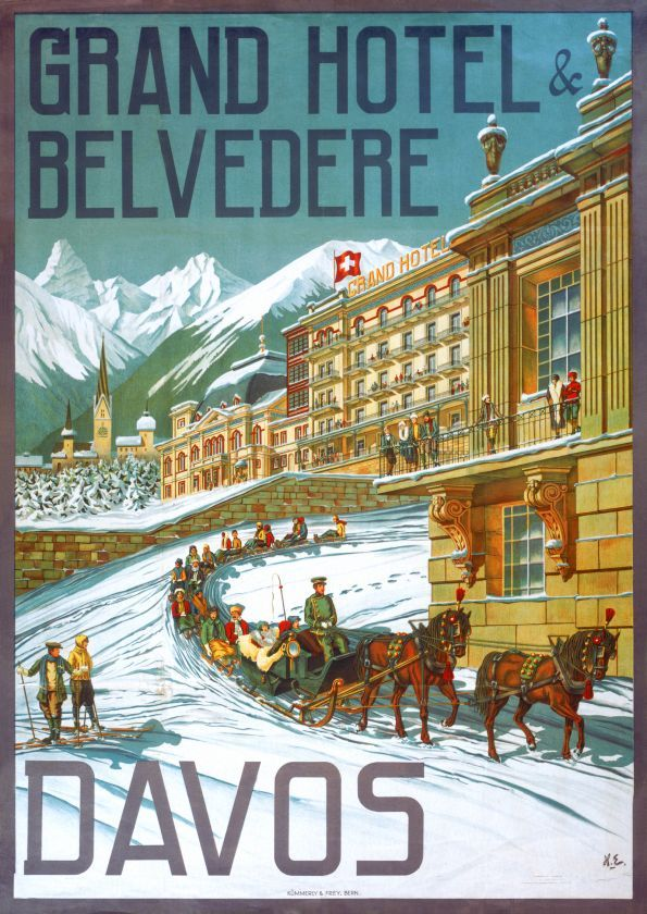 Davos, Grand Hôtel & Belvédère