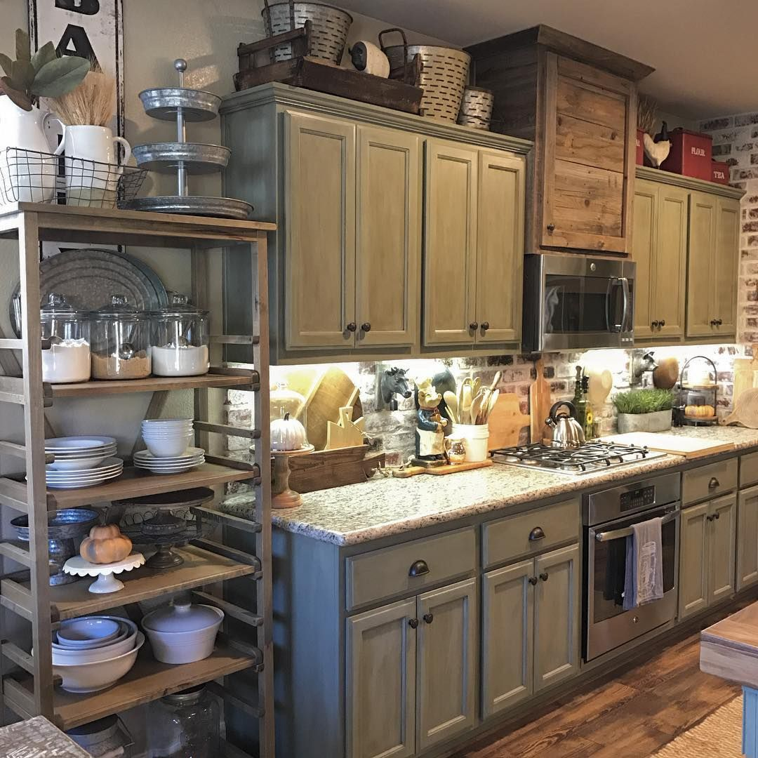 23 Best Rustic Country Kitchen Design Ideas And: Pin By LAURA Armstrong On HOME DECOR In 2019