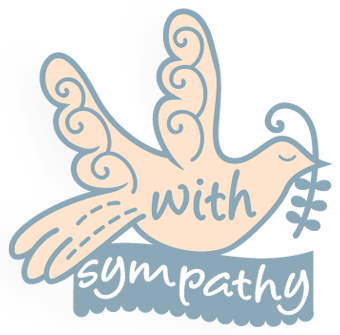 With Sympathy Dove Olive Branch Silhouette Svg Cricut