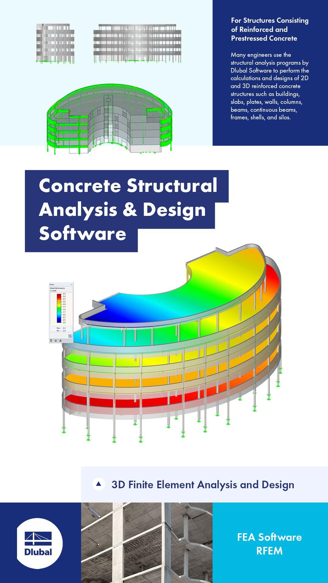 Concrete Structural Analysis Design Software