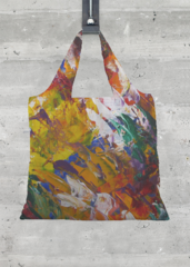 Foldaway Tote - Abstract by VIDA VIDA