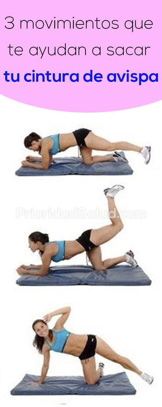 3 Ejercicios Para Lograr Una Cintura De Avispa Health Fitness Workout Excercise