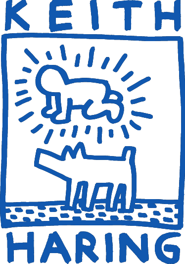 Adesivi Murali Keith Haring.Adesivo Murale Keith Haring Adesivi Murali Murale Arte