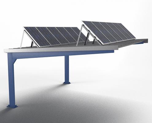 Europa Prefabri Construction And Installation Of Car Park Shelters Roof Solar Panel Diy Solar Panel Car Parking