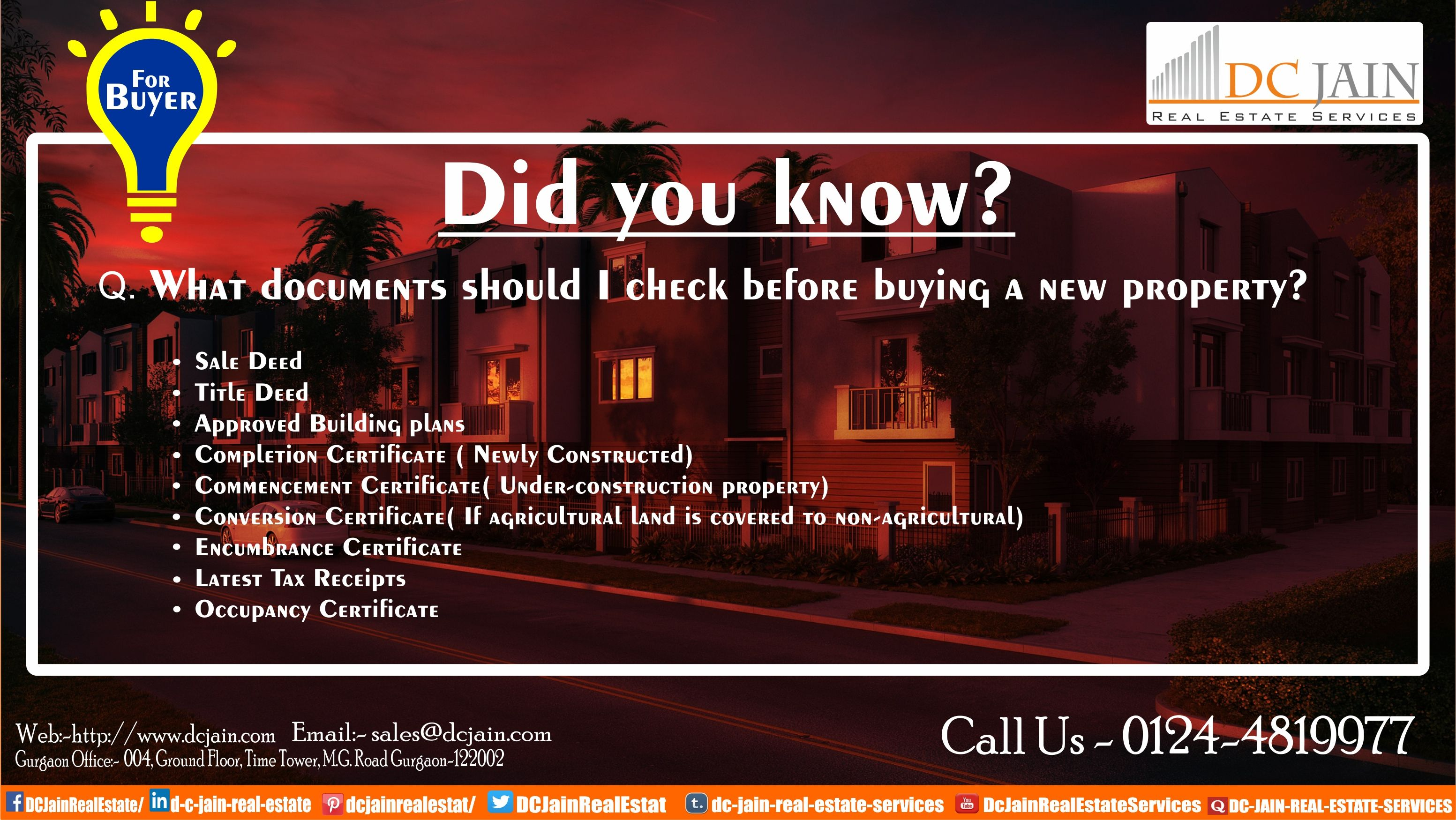 Don\'t Forget To Check These Document Before Buying a New Property ...