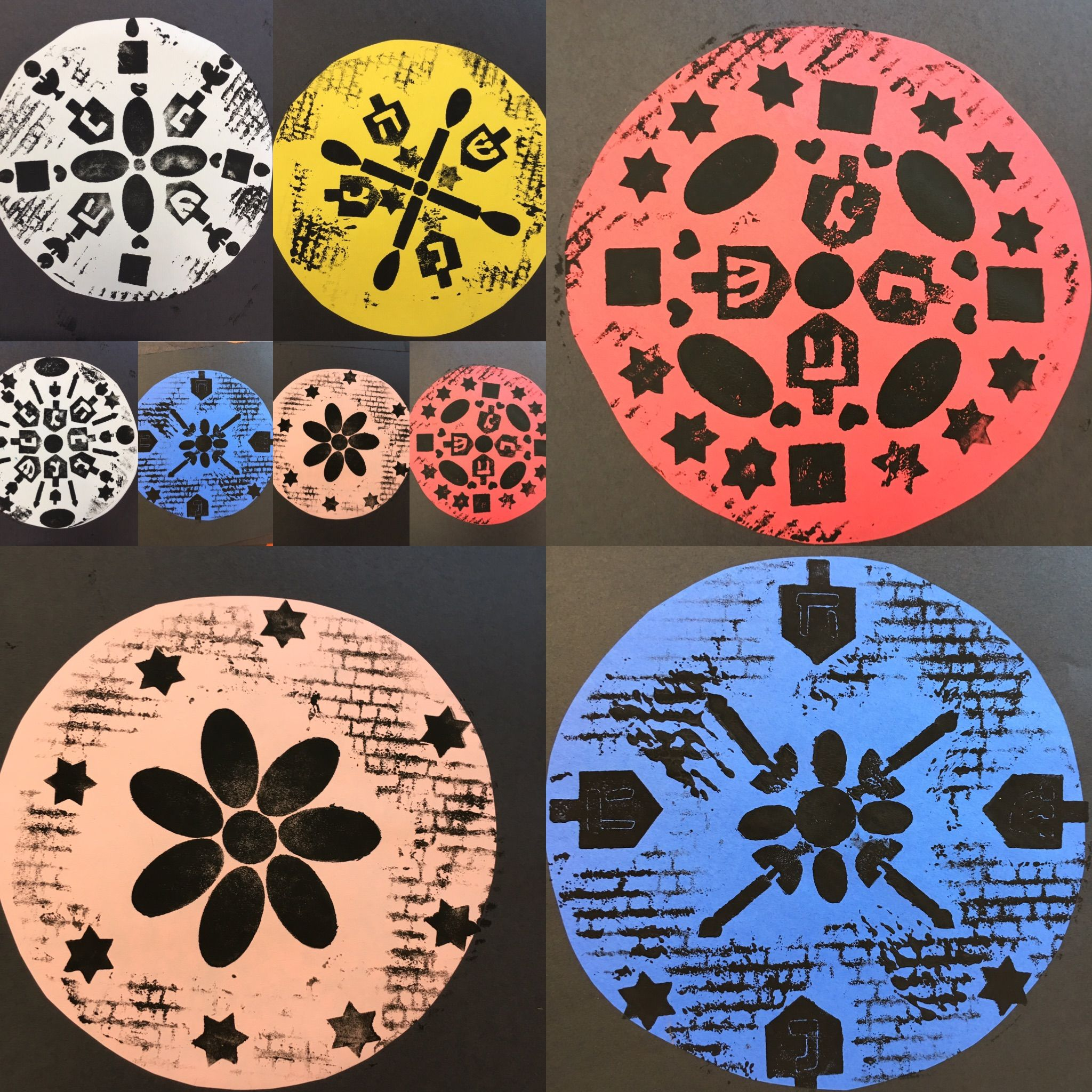Radial Symmetry Stamps