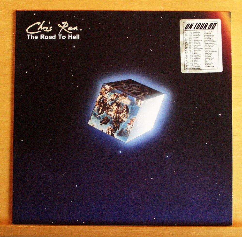 CHRIS REA The Road to Hell Vinyl LP Looking for a Rainbow Daytona Texas Top RARE
