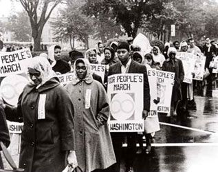 Poor Peoples March Mississippi To Washington Dc 1967 1968 African American Culture African American History Women In History