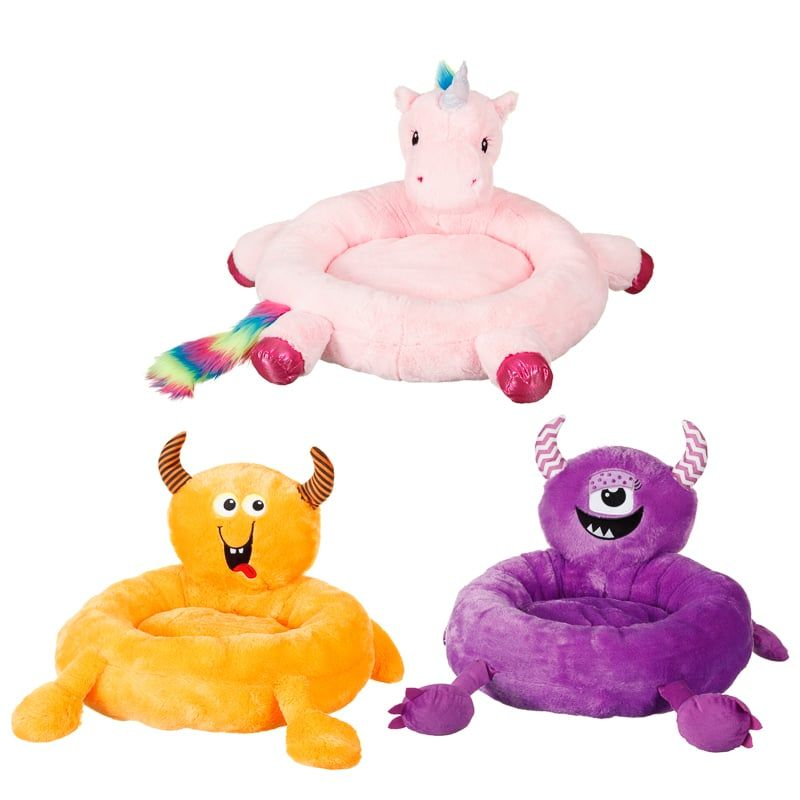Purple Monsternovelty Pet Bed A Super Soft Pet Bed To Guarantee A Good Night S Sleep Made From Supersoft Material Browse More Pet Bedding At B M Kedi