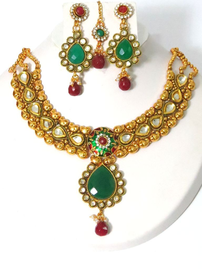 Latest Stani Fashion Jewellery Whole Imitation Costume Wedding Design Online Bridal