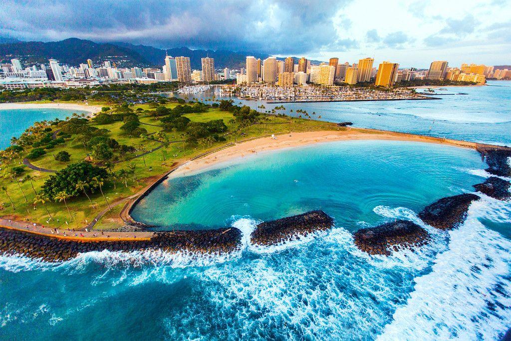 Magic Island Honolulu Hawaii