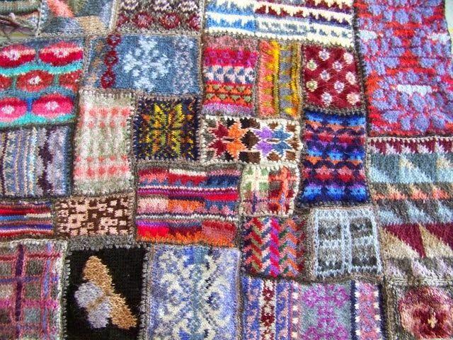 Wolboetiek: Kriebels | Blanket | Pinterest | Fair isles, Blanket ...