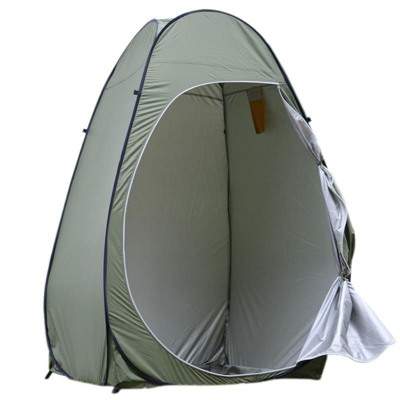 US Portable Pop Up Tent Privacy Shelter Outdoor Camping Beach Shower Toilet Tent