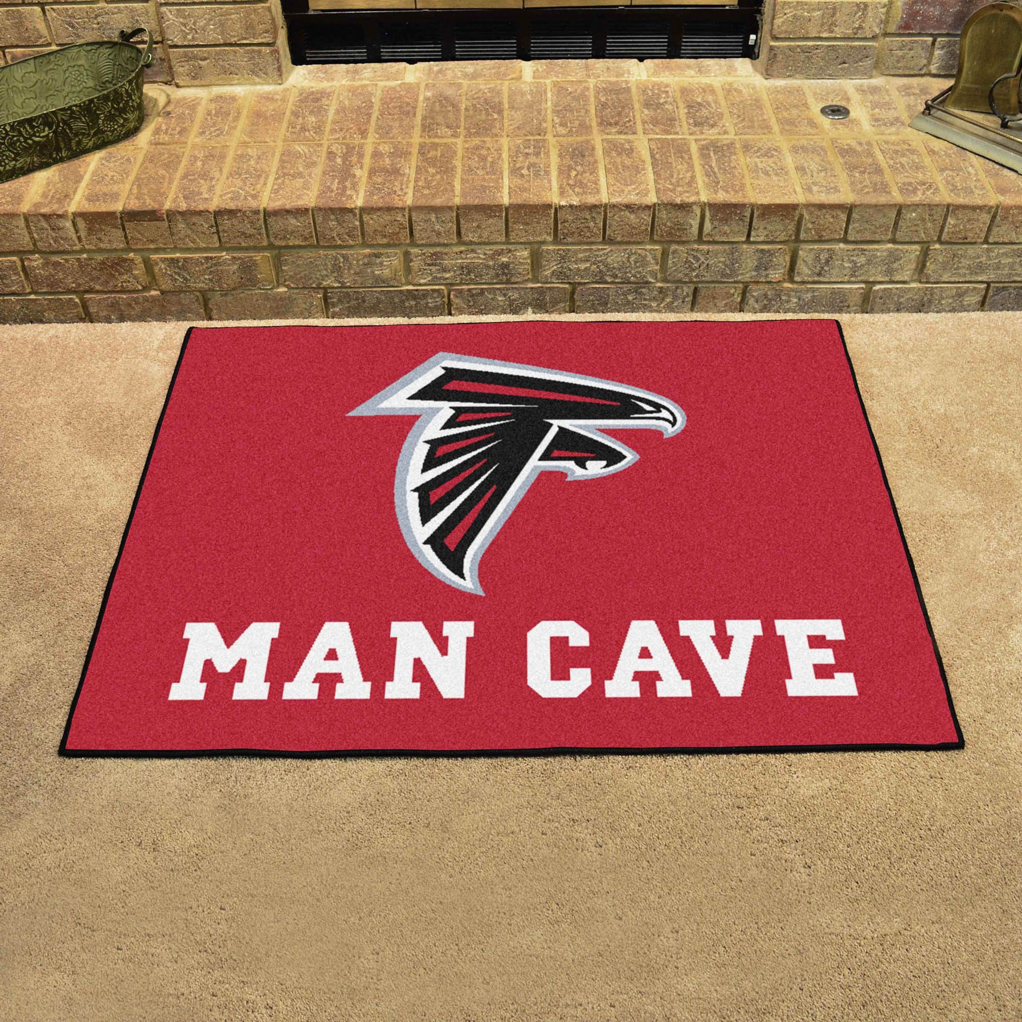 Atlanta Falcons Man Cave Nfl All Star Mat Atlanta Falcons Man Cave Man Cave Nfl Star Rug