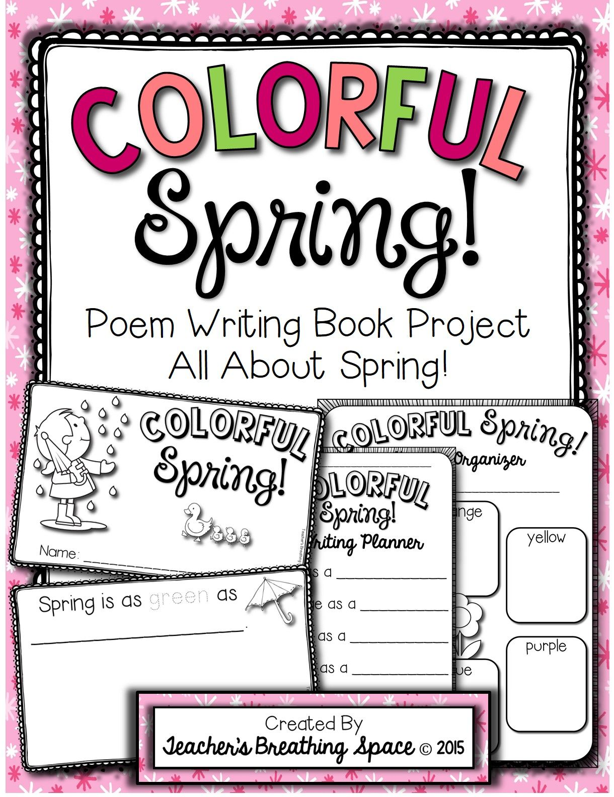 Spring Poem Writing --- \