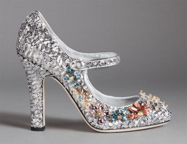 Dolce & Gabbana Pumps nappa leather Gem Sequins Z5fQDGMo3