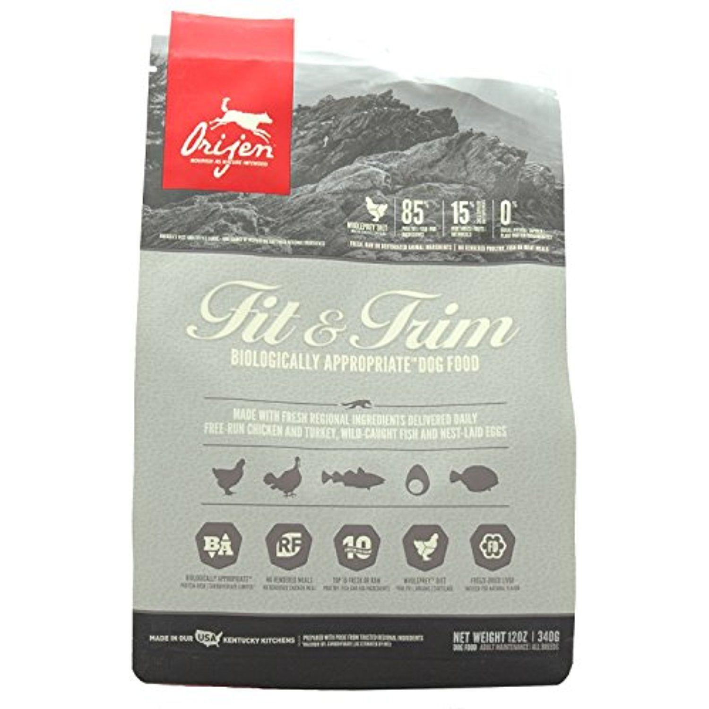 Orijen FIT & TRIM Dry Dog Food 12 Ounces Please be sure