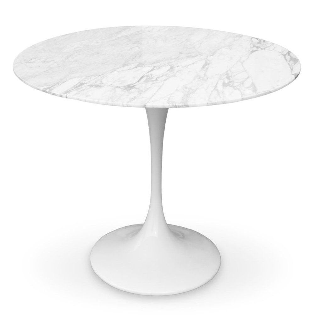 Eero Saarinen Tulip Table Marble Top 32 Eero Saarinen Tulip