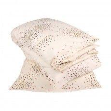 Parure de lit Junior Vanilla - Imprimé à pois multicolore