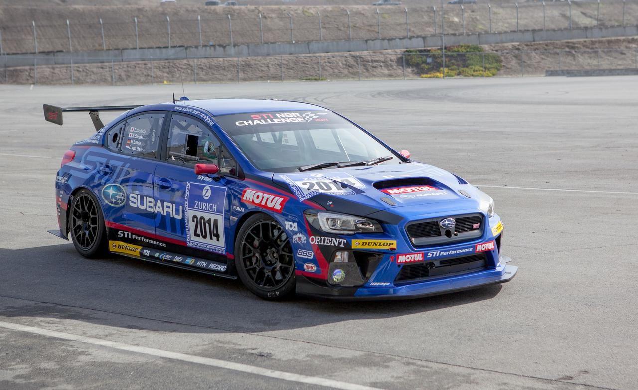 Subaru Wrx Sti Sp3t Race Car Photo