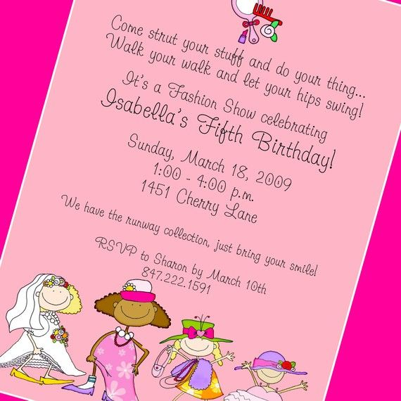 Dress Up Party Invitation, Printable Invitation Design, Custom ...