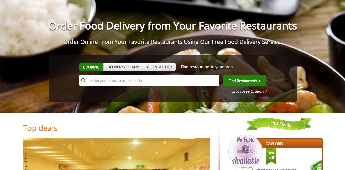 Online Food Ordering & Delivery System – Foodpanda Clone
