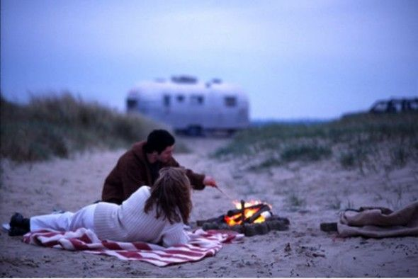 Camping....in an airstream....on the beach-yes!
