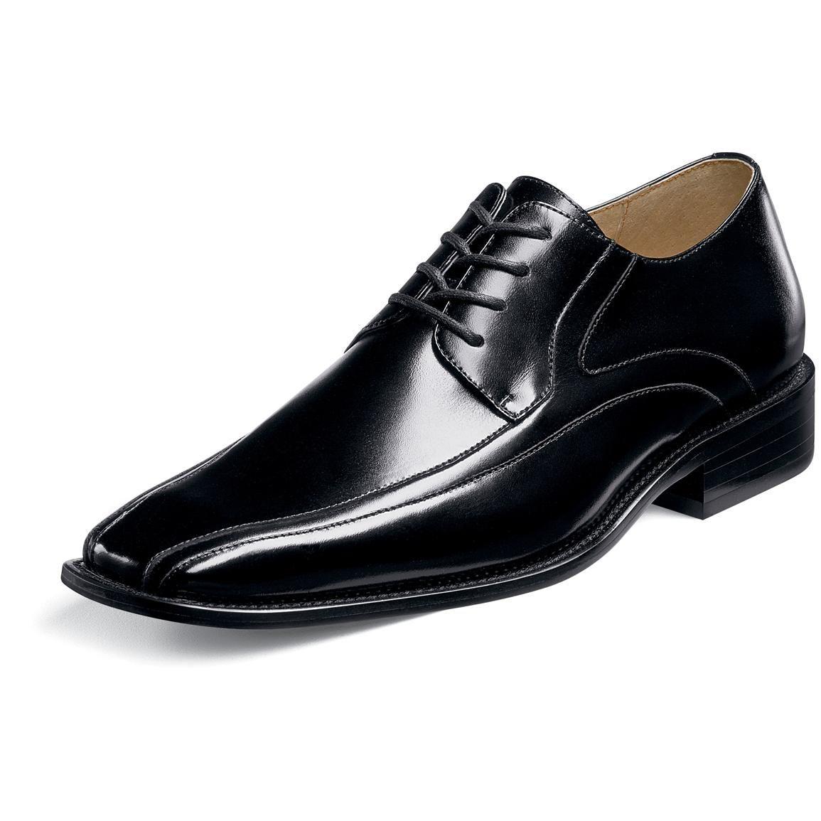 Men's Stacy Adams® Peyton Dress Shoes, Black - 207424, Dress Shoes at  Sportsman's Guide