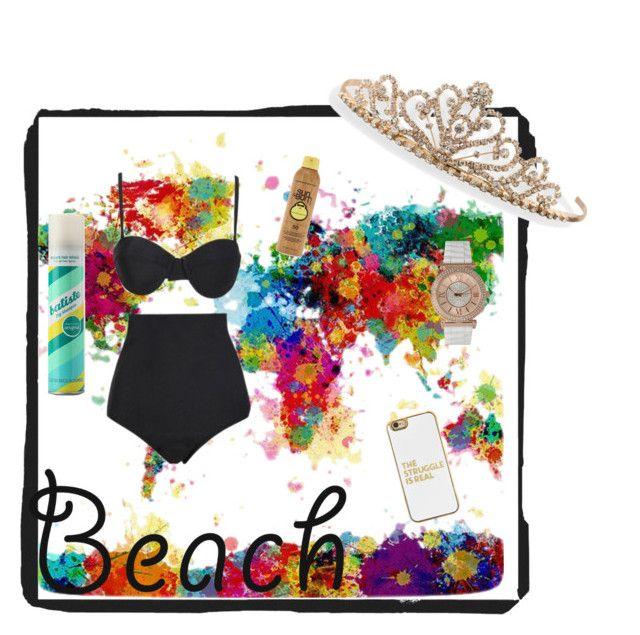 """Beach date"" by rcl-chabria on Polyvore featuring Beach Riot, Forever 21, Batiste, BaubleBar, BillyTheTree, Olivia Pratt, beach and summerdate"