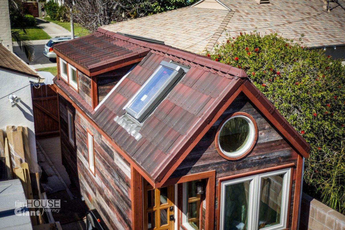 Best Tiny House Giant Journey Ondura Onduvilla 3D Shingles Roof 400 x 300
