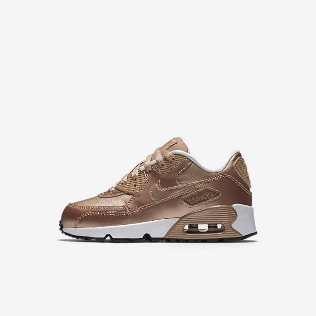 a159c6ae8b3e Rose gold Air Max 90 girls Air Max 90