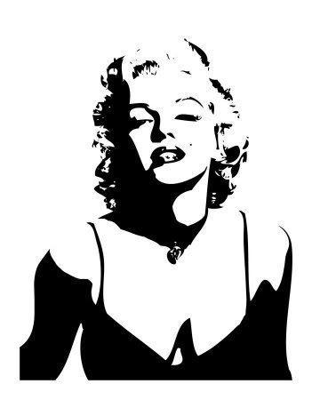 Marilyn Monroe Face Silhouette Tattoo Fc2e5b58f3248d4fefa4c2f6098638 ...