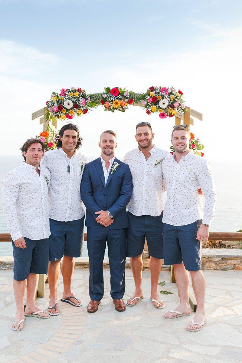 Andros Island Beachfront Wedding in Greece Illusion