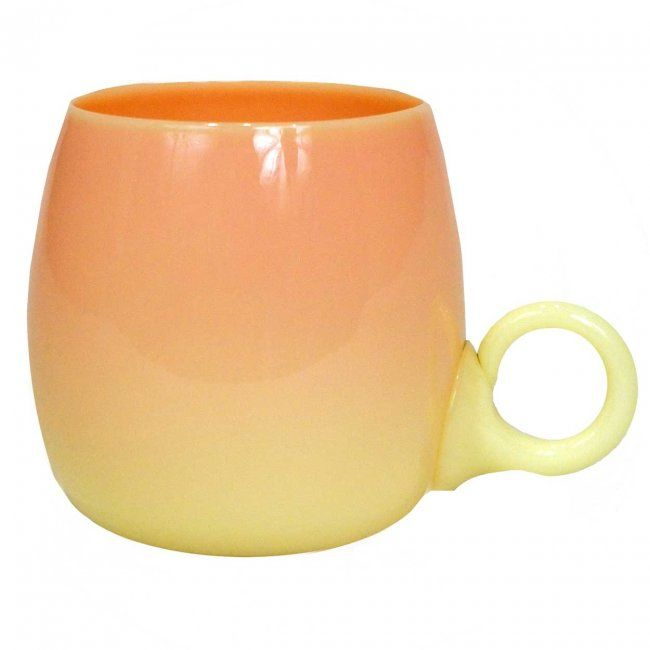Mt. Washington Burmese Glossy Punch Cup with Ring Handle - 3  inch HOA