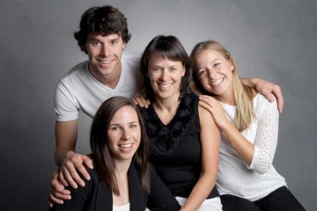 Portrait de famille: les Belzile-Harvey