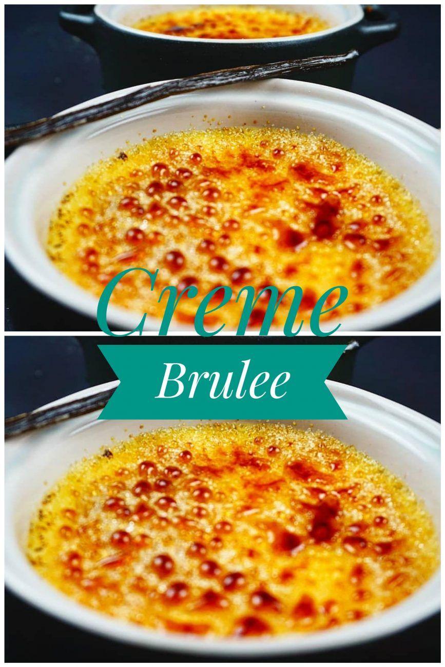 Beste Creme Brulee - essen mit liebe #cremebrulée